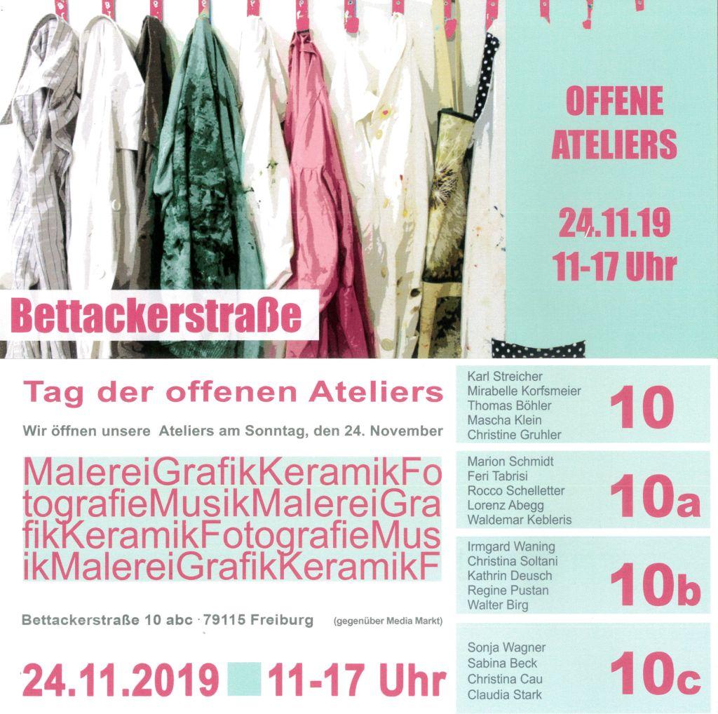 Offene Ateliers am 24.11.2019